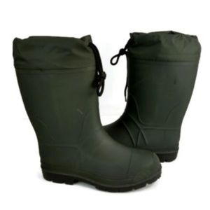 Unknown Brand Men's Army Green Snow Boots Size 8